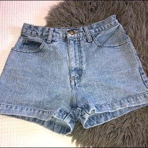 Vintage Guess High-Waisted Jean Shorts